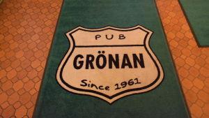 Pub Grönan/matta