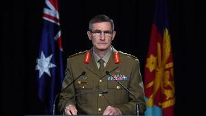Australiens försvarschef Angus Campbell höll på torsdagen en presskonferens om den rapport där det äntligen redogörs för de misstänkta krigsbrotten.