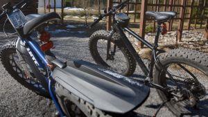 Ingvar och Rose Ingvars cyklar.