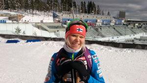Mari Laukkanen, VM 2016.