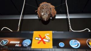 Maskot i Flygledartornet vid Kronoby flygplats