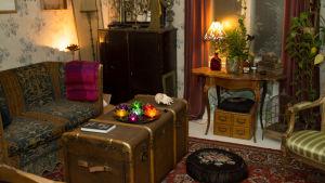 Nina Wiklunds vardagsrum