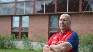 Björn Paasonen var ansvarig handledare vid förläggningen mellan 2015 och 2017.
