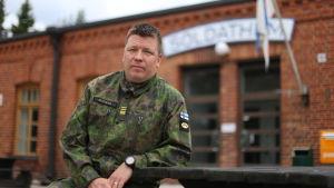 Premiärlöjtnant Joakim Borgar.
