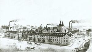 Sandviken i Helsingfors på 1870-talet