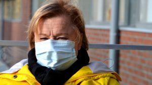 Minna Seppälä - avd.sköterska vid öppenvårdsmottagningen på Sibbo social- och hälsostation