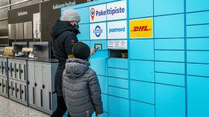 postnord, paket, paketbox