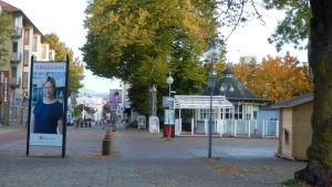 Valaffisch i Mariehamn den 18 oktober.