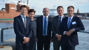 Rik Nugteren, MInna Sundelin, Anders Ahlvik, Simon Bonnell och Tore Granskog.