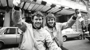 Keith Armstrong och Hugh Smith spelade för OPS under mästerskapssäsongen 1980.