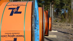 stora cylindrar i skogsmiljö