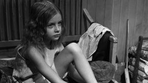 Kristina Klockars som Rut i en filmatisering av Anna Bondestams Klyftan, 1973