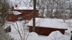 Villa Biaudet i Lovisa vintern 2018.