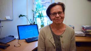 Outi Kuikanmäki, överlägare vid Helsingfors diakoniistitut.