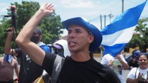 Edwin Carcache, som hör till oppositionens viktigaste ansikten och röster, blev tagen av regeringsstyrkorna den 4 september.