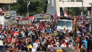 Demonstrationer i Irak