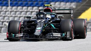 Valtteri Bottas kör Mercedes.