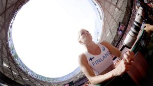 Minna Nikkanen, VM i Peking 2015.