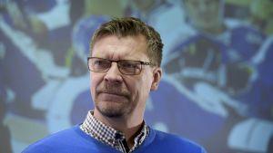 Chefstränare Jukka Jalonen.