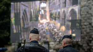 Fransk polis i Rouen