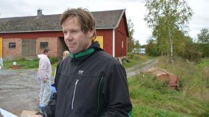 Fredrik Grannas, ombudsman på ÖSP.