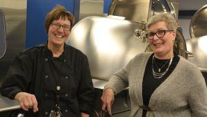 Birgitta Creutziger och Annika Malms-Tepponen