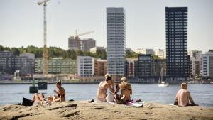 Värmebölja i Sverige