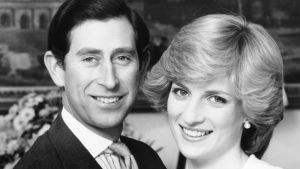 Så unga. Prins Charles och prinsessan Diana, 1985.