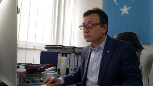 Dolkun Isa är president för den uiguriska världskongressen.