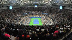 US Open avgörs på Arthur Ashe Stadium.