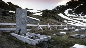 Ernest Shackletons grav på Sydgeorgien