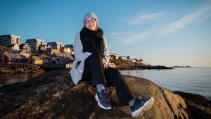 Grönlantilainen ilmastoaktiivi Sascha Blidorf