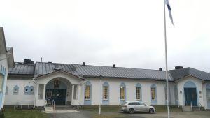 Valamon kuluttuurikeskus-talo.