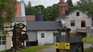 Olli Muurainens del av Billnäs bruk väntar ännu på att fortsätta utvecklas.