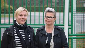 Jessica Roms och Patricia Rehn.