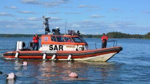 Borgå sjöräddares båt