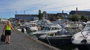 Gästhamnen i Dalsbruk.