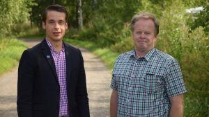 Henrik Wickström och Jarl Boström