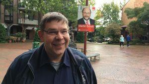 Andreas Dumke är vän och stor anhängare av Schulz.