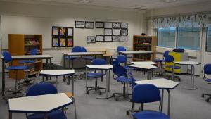 Ett klassrumm