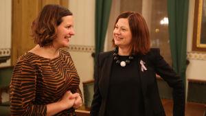 Elina Rantanen och Minna Arve