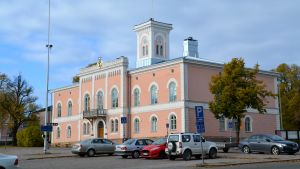 Lovisa stadshuset.