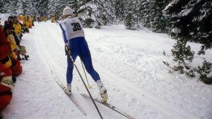 Marja-Liisa Hämäläinen, OS 1984.