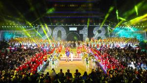 Nyårsfirande i Kina.