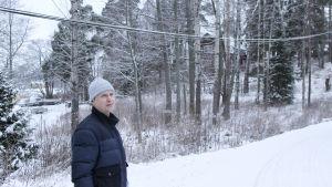 vacker vintermiljö på sökö udd