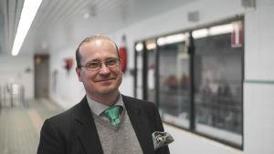 Anders Lindholm-Ahlefelt, kultur- och fritidschef i Grankulla.