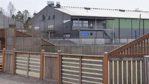 Folksam-arenan, idrottshallen i Sjundeå.