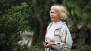 Tatjana Zintjuk arbetade i parken i 25 år