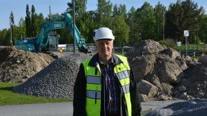 Hans Hjerpe är projekteringschef vid Korsholms kommun.