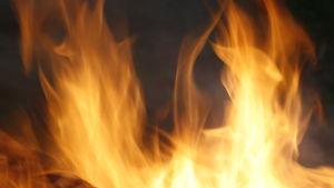 Lågor av eld.